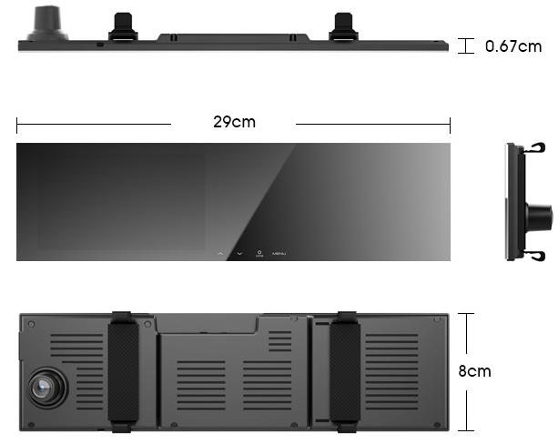 无边框后视镜行车记录仪哪个好?云路GS SmartSens SC2363图像传感器 防坑必看 第2张
