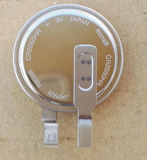 内置胎压传感器电池之 MAXELL二氧化锰锂电池CR2050HR