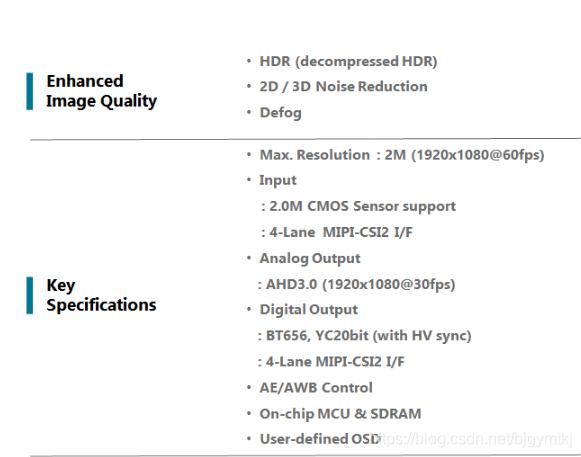 汽车摄像头的图像信号处理ISP NVP2650 博主推荐 第1张