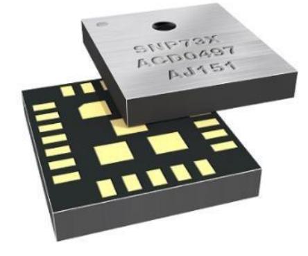 琻捷SNP739 双轴胎压监测芯片 胎压OE替换件 第1张