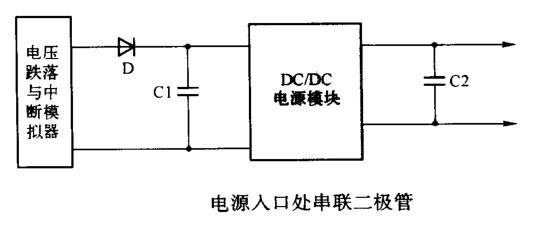 二极管与储能、电压跌落、中断抗扰度【EMC学习】 博主推荐 第5张