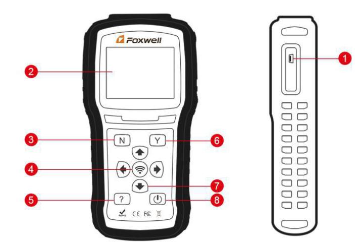 T1000 TPMS胎压工具 胎压OE替换件 第1张