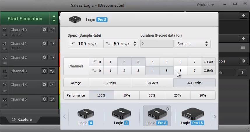 Saleae Logic16 逻辑分析仪使用 博主推荐 第1张