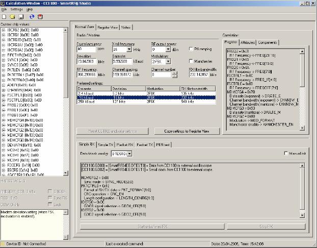 CC1100的4线串行配置和数据接口 博主推荐 第1张